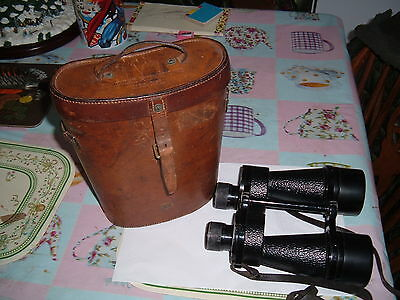 Ross Vintage Binoculars with Original Case Ross of London