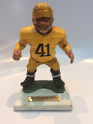 """1941 Pittsburgh Steeler """"jock Jolter"""" Ltd. Ed No.6/10 By Fred Kail"""