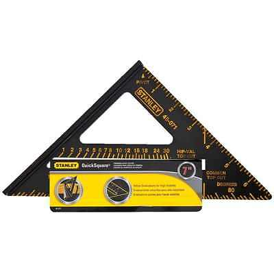 Stanley Combination Square Layout Tool Speed Square Rafter Angles Protractor NEW
