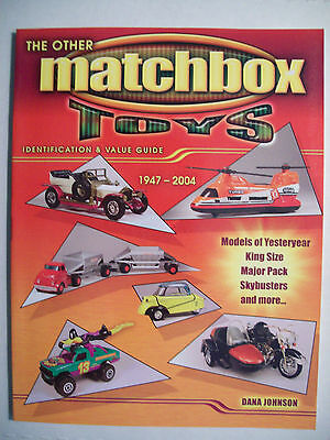 Vintage Matchbox Toys Car more Price Guide Reference Book Match box