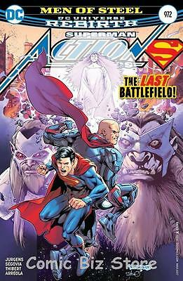 Action Comics #972 (2017) 1St Printing Superman Dc Universe Rebirth
