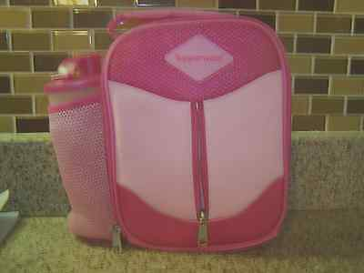 Tupperware Insulated Lunch Bag /cup,sandwich keeper, snack cup