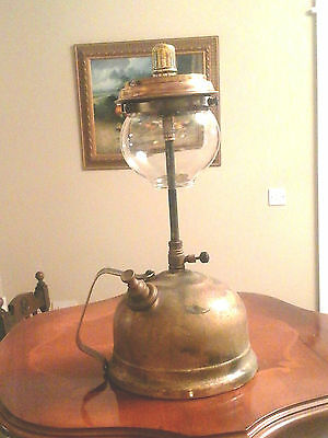 Rare Vintage TL13 Tilley  Table lamp