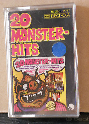 20 Monster Hits -Status Quo - Sheila & B.devotion-Pussycat-Bay City Roller - Dar