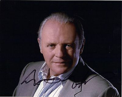 Anthony Hopkins, Silence Of The Lambs, Hand Signed, 10x8 Photo Comes With COA