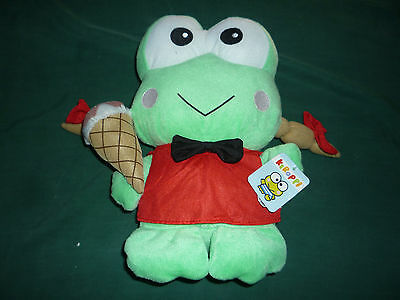 12 inch Keroppi Frog- Ice Cream (2009, Sarino) with Tags!