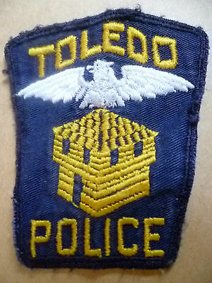 Patches: TOLEDO US POLICE PATCH (NEW. apx. 9.5x8 cm)