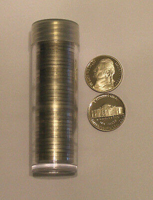 1994 S 5c Gem Proof Jefferson Nickel Roll 40 Coins Deep Cameo