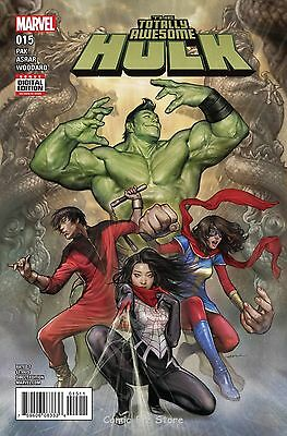 Totally Awesome Hulk #15 (2017) 1St Printing Bagged & Boarded Marvel Now