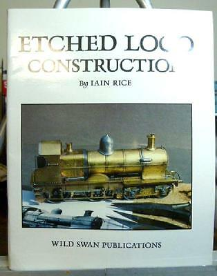 Iain Rice Etched Loco Construction Model Railroad book
