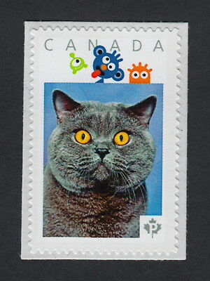 BLUE BRITISH CAT Picture Postage Stamp Canada limited issue p15/3sn1