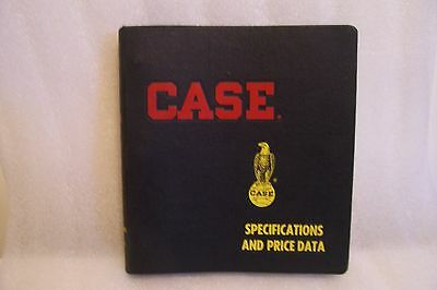 Vintage Case Tractor & Implement Speifications and Data Book