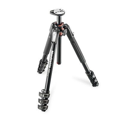 Manfrotto MT190XPRO4 NEW 190 4-section tripod, with horizontal column. UK seller