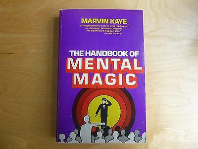 Marvin Kaye 'The Handbook of Mental Magic'