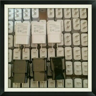 Lot: 50 pcs 1 Port Wall Charger 2A Adapter for Samsung Apple iPhone 6s/6 LG HTC