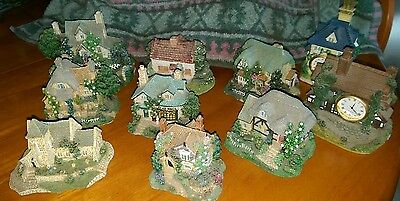 10 x Leonardo Collection Houses Shops Clocks