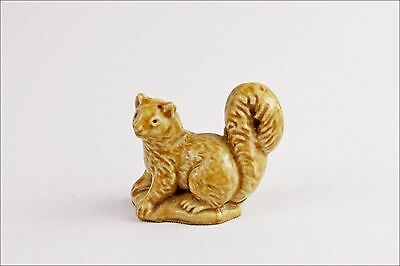 Vintage Wade Whimsies Pine Marten - Porcelain Animal Figurine Small Collectable
