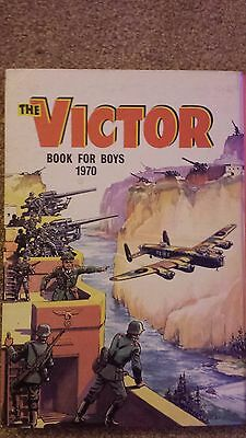 DC Thomson - The Victor Book for Boys Annual - 1970 - No 7 - UNCLIPPED!