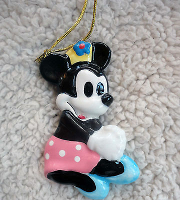Minnie the Mouse   Hanging Decoration, Ornament - Disney, Schmid Ceramic
