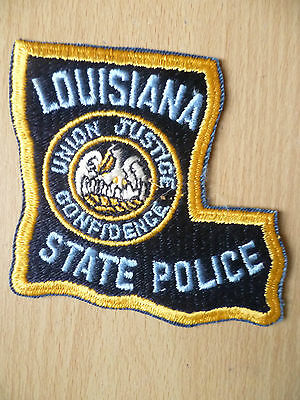 Patches: LOUISIANASTATE POLICE PATCH (NEW, apx.3.8x 3.10)