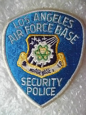 Patches- US Los Angeles Air Force Base Security Police Patch (New*,110x88 mm)