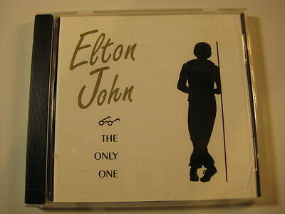 "Elton John live factory-pressed CD ""The Only One"" Live in Lausanne 1992"