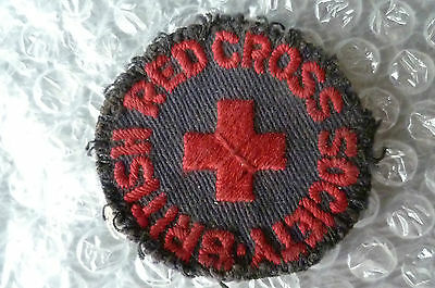 Patches- British Red Cross Society Patch (RARE)