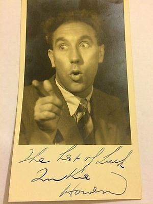 *****titter Ye Not! Frankie Howerd Signed Picture - Genuine Item******