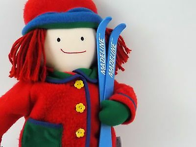 "21"" Plush Madeline Doll From Eden Ski Outfit With Furry Boots"