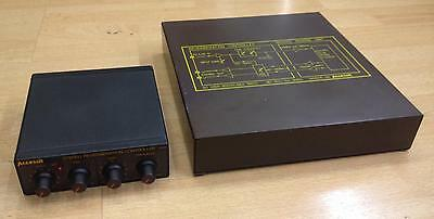 Accessit Vintage Analog Spring Reverb Unit + Stereo Reverberation Controller