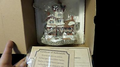 Christmas 2000 - Hereford Inlet New Jersey  #5154/10000 COA  NIB #710 w coin