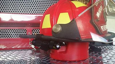 Firefighter/Firemen Helmet Light with Bracket, Rechargeable Battery and Charger!