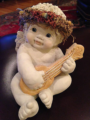 Dreamsicles Figurine Lyrical  Lute 10169 Good Condition