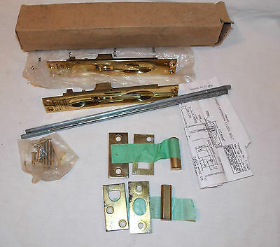 Hager Lever Extension Flush Bolts Template Brass No. T-282D Kit Ca 1996