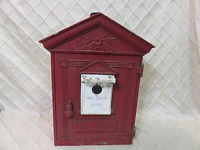 Game Well Fire Alarm Box Vintage