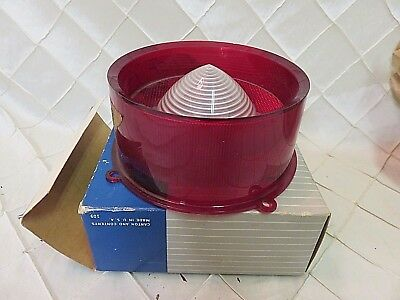 FOMOCO Ford Tail Light Lens 1950s COSF-13450-B NEW OLD STOCK