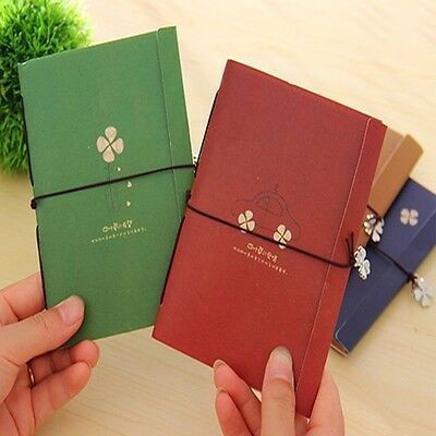 Durable Vintage Notes Journal Blank Craft New Notebook Memo Travel Paper