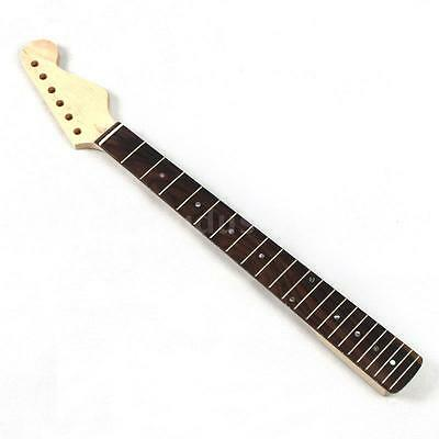 22 Frets Replacement Maple Neck Rosewood Fingerboard for Electric Guitar L7Z5