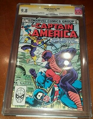 Captain America #282 CGC 9.8 wht pgs SS Mike Zeck first appearance Jack Monroe
