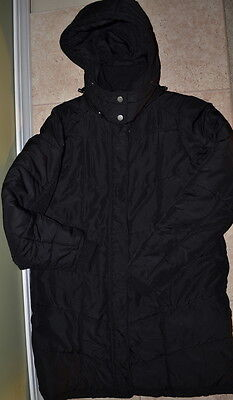 Motherhood Maternity Quilted Puffer Maternity Coat Black size S Small