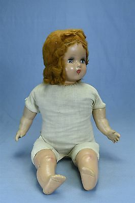 """Vintage HORSMAN 21"""" DOLL COMPOSITION & CLOTH PARTS ONLY SOLD AS IS # 3153"""