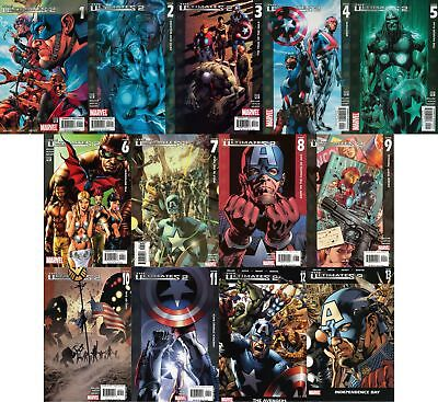 Ultimates 2 #1-13 Complete Set