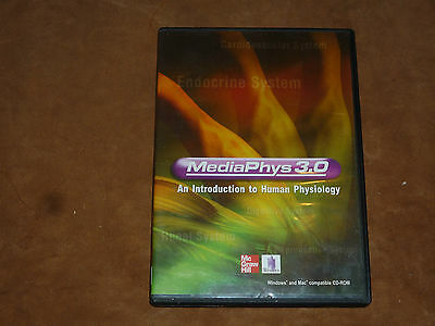 MediaPhys 3.0: An Introduction to Human Physiology (PC/MAC, McGraw Hill)