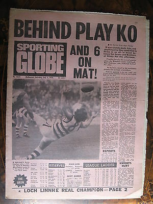 Sporting Globe JULY 31976 South Melbourne Essendon