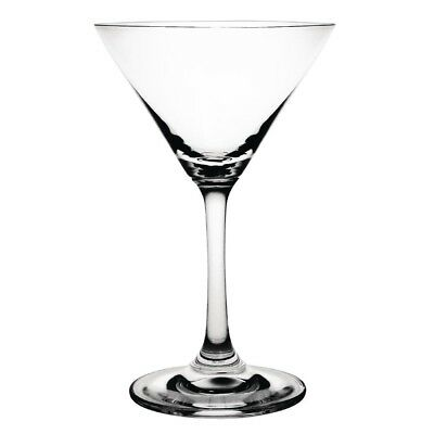 6 X Olympia Crystal Martini Glasses 145Ml Cocktail Drinking Flutes Tumblers