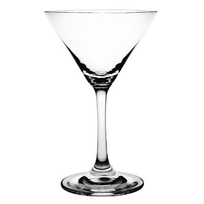 Pack of 6 Olympia Crystal Martini Cocktail Glasses 160ml