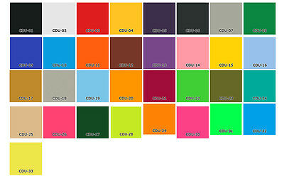 "33 Colors Easyweed Heat Transfer Vinyl 19"" x 12"" (More than 1 Foot) T-shirts"