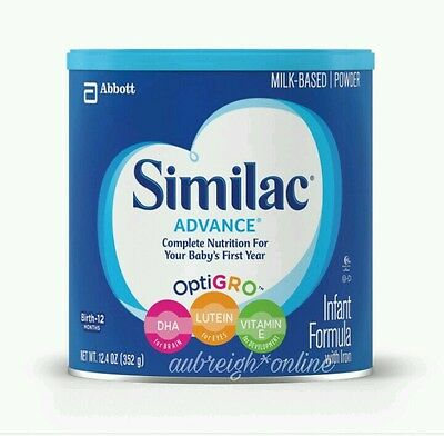 Similac Advanced Infant Formula with Iron 12.4oz Can (Sealed, Use By 1DEC2018)