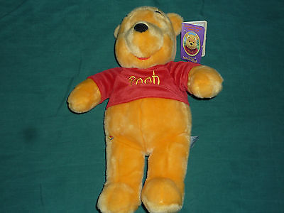 "18"" Plush Winnie-the-Pooh with Tags! (Build-A-Bear Workshop/Disney)"