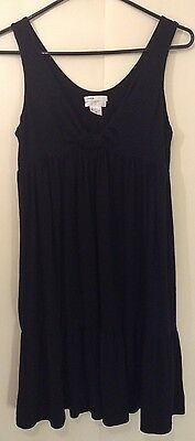 Vince/A Pea In The Pod Maternity Nightgown Black Size Medium